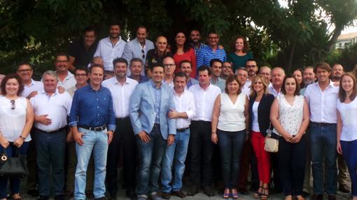 Reunión Intercomarcal del PP en L'Alacantí celebrada en San Juan