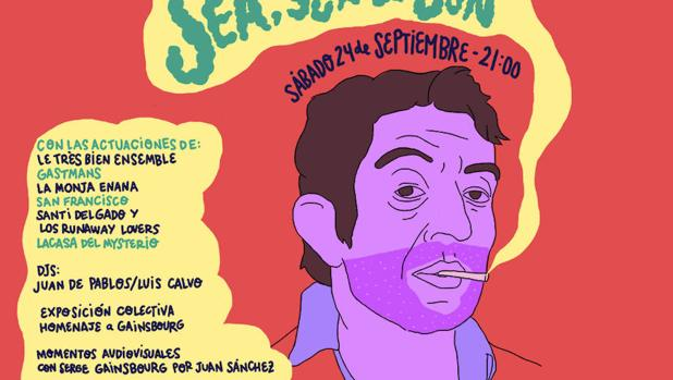 Cartel del homenaje «Sex, Sea & Sun»