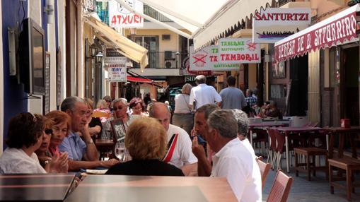Tascas vascas en Benidorm (Alicante)