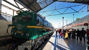 El Tren de la Fresa volverá a circular los fines de semana de septiembre y octubre