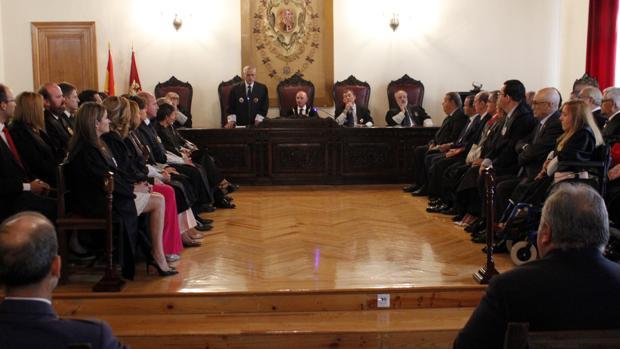 Apertura del Año Judicial, en esta ocasión, en la Audiencia Provincial de Toledo