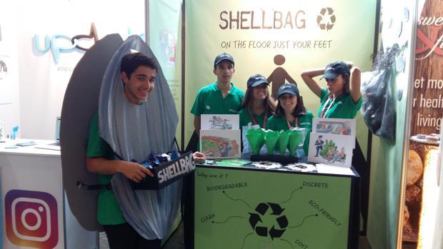 """Los inventores de la """"Shellbag"""" son alumnos de 2º de Bachillerato"""