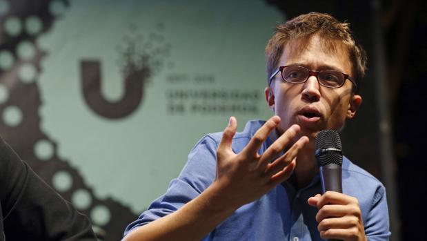 Íñigo Errejón, en la universidad de verano de Podemos