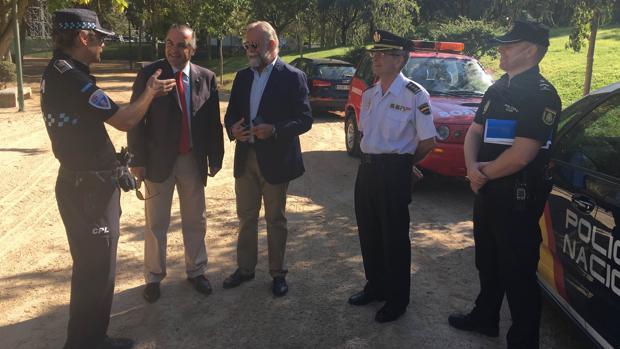 Gregorio alaba el punto de seguridad en las ferias de Talavera: «Es modélico»