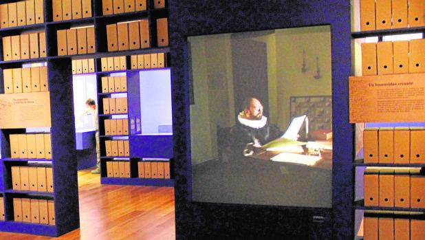 En el espacio expositivo están ubicados cuatro audiovisuales