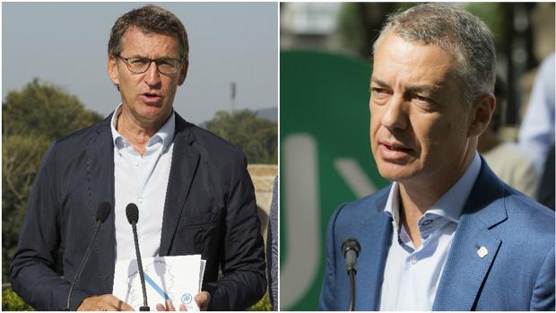Alberto Núñez Feijóo e Íñigo Urkullu