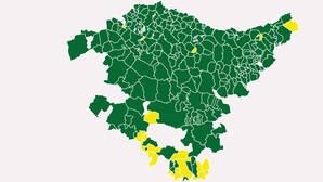 Solo en 22 municipios no se imponen los nacionalistas vascos