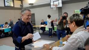 La participación en el País Vasco a las 17.00 horas se desploma casi tres puntos respecto a 2012