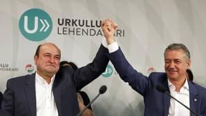 La noche electoral vasca, en vídeo
