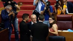 Puig y Oltra blindan su pacto con Podemos para evitar una crisis como la de Castilla-La Mancha
