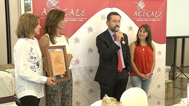 Eduardo Álvarez dedicó unas palabras de agradecimiento a ACECALE