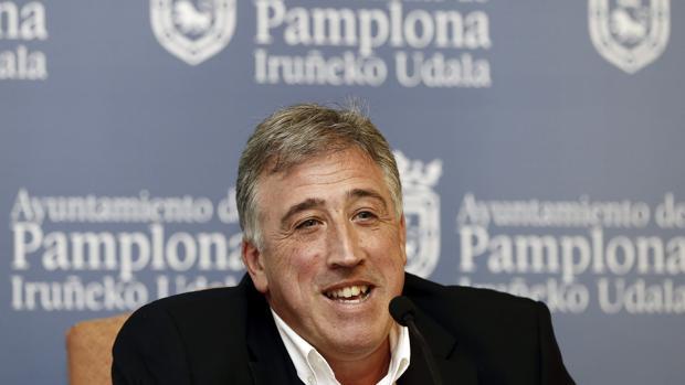 El alcalde de Pamplona, Joseba Asirón (EH Bildu)