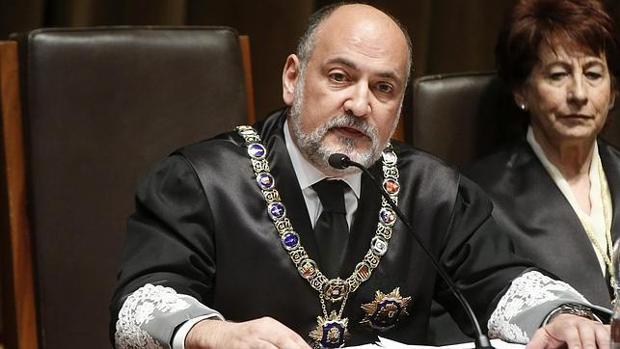 Francisco Pérez de los Cobos, presidente del TC, en una imagen de archivo