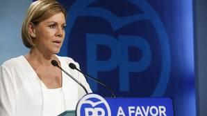 Cospedal, dispuesta a apoyar a Page tras la ruptura del acuerdo con Podemos en Castilla-La Mancha