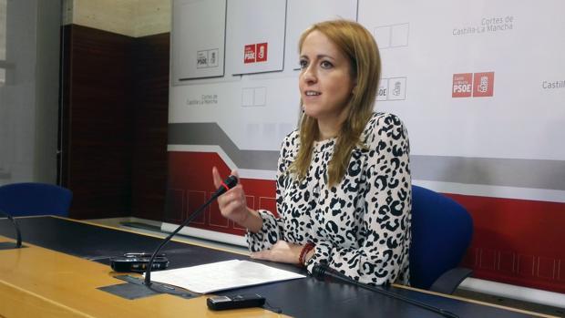 Cristina MAaestre, portavoz del PSOE