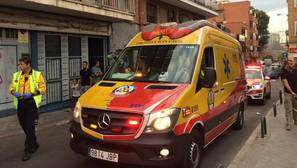 Un joven de 21 años, muy grave, tras ser alcanzado por un disparo en el distrito de Puente de Vallecas