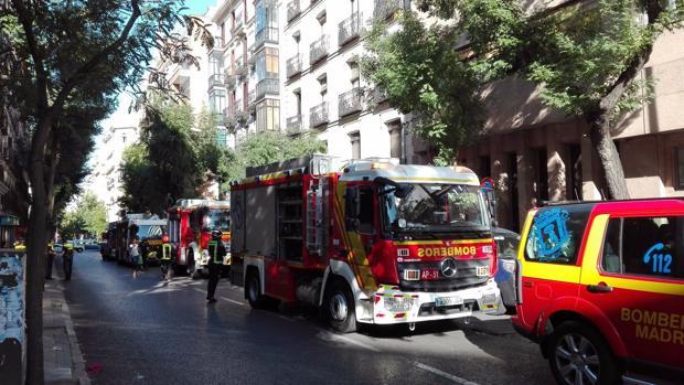 Incendio en un restaurante del callejón de Puigcerdá
