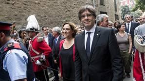 Puigdemont se reunirá con diputados de Junts pel Sí antes del debate de confianza