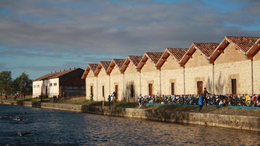 El Canal nace en Alar del Rey, al norte de Palencia