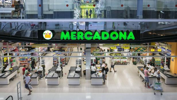 Imagen de archivo de uno de los supermercados de Mercadona