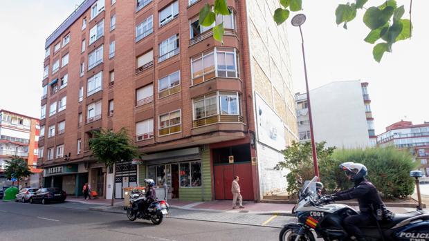 La calle Arca Real de Valladolid, donde ha sido detenido el yihadista integrado en el DAESH