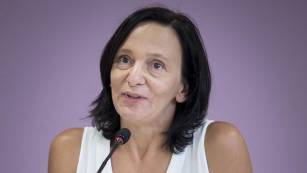 La secretaria de Análisis Político de Podemos, Carolina Bescansa