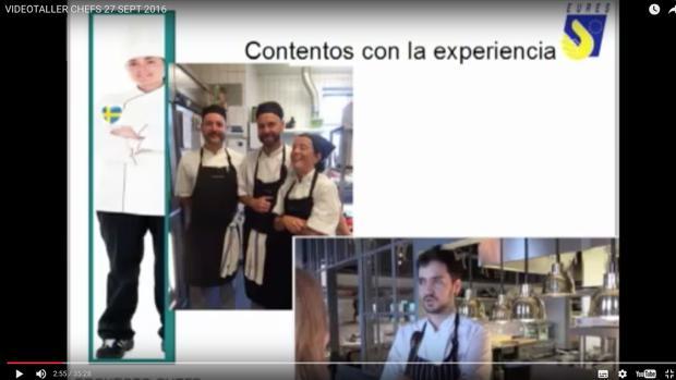 Vídeo explicativo del Servef para la presentación de currículums de los aspirantes