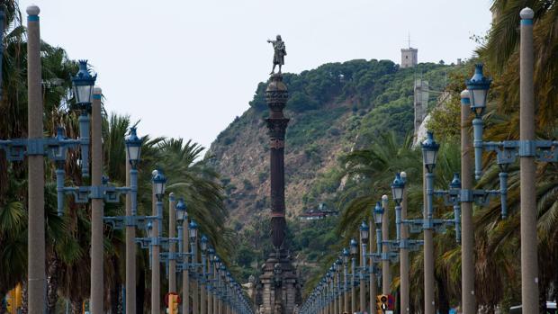 El monumento de homenaje a Cristóbal Colón se alzó en 1888