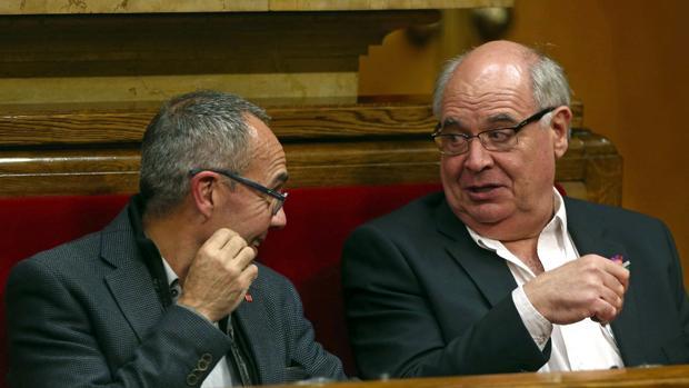 Coscubiela y Rabell, en el Parlamento catalán