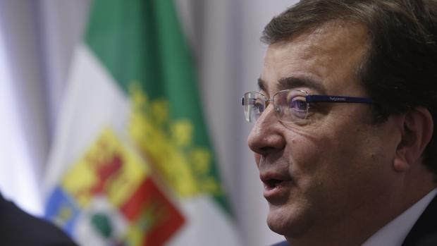 Guillermo Fernández Vara, presidente de Extremadura y barón crítico con Pedro Sánchez
