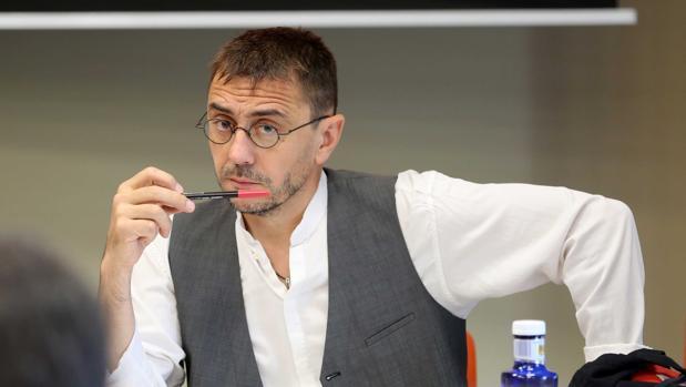 El cofundador y exdirigente de Podemos, Juan Carlos Monedero