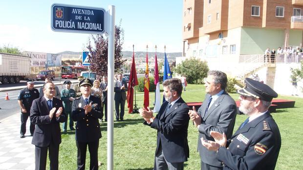Cuenca dedica una avenida a la Policía Nacional