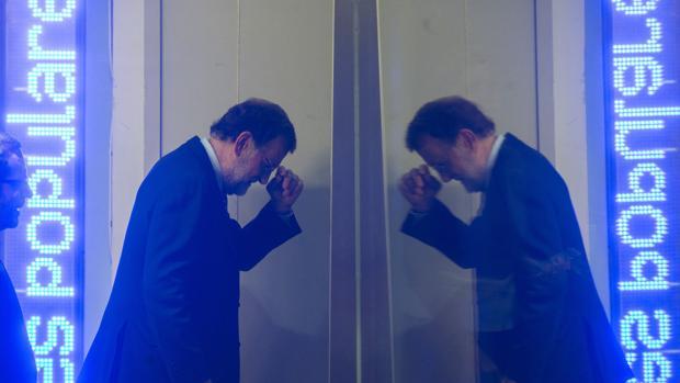 Mariano Rajoy, en el Comité ejecutivo del PP