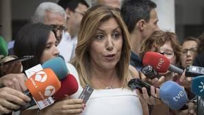 Susana Díaz: «Estaré donde me pongan mis compañeros, en la cabeza o en la cola»