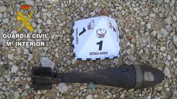 Imagen de la granada de mortero