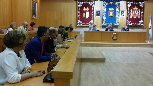 Pleno en el Consistorio de Talavera