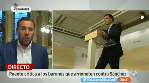 «Puente ha defendido a Sánchez y la celebración del 39 Congreso Federal