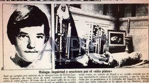 Piden que se dé al fin por muerto al «niño pintor» de Málaga