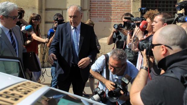 El exconseller Rafael Blasco, en cuyo departamento se investigan las presuntas irregularidades