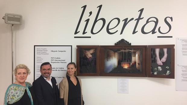 Inauguración de la muestra fotográfica este martes en Orense