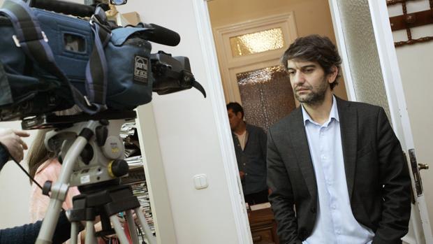 El alcalde de Ferrol, Jorge Suárez