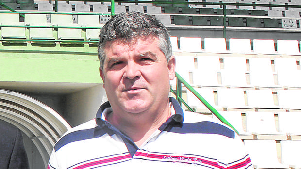 Onésimo Sánchez, entrenador del CD Toledo