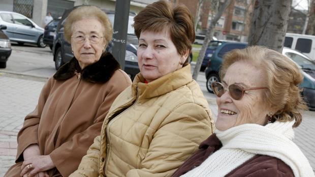 Ancianas con pensiones muy bajas