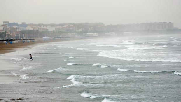 Imagen de archivo de la playa de Las Arenas de Valencia