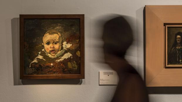 Imagen de una exposición de Pinazo en Valencia
