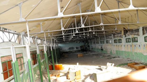 Estado en el que se encontraba el gimnasio en 2013