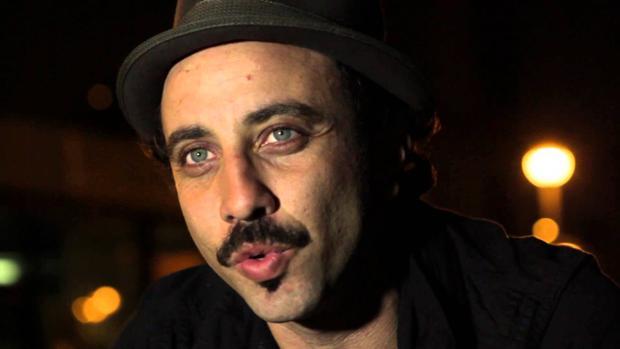 Lucas Masciano, en Café Libertad