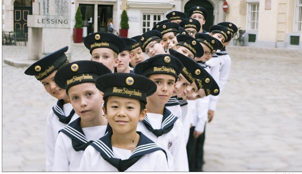 El coro que ha venido a España lo integran 25 niños y están dirigidos por Jimmy Chiang