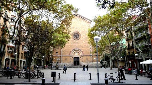 La plaza de la Virreina de Barcelona