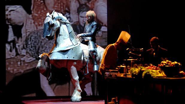 Imagen de una representación del Tirant lo Blanch
